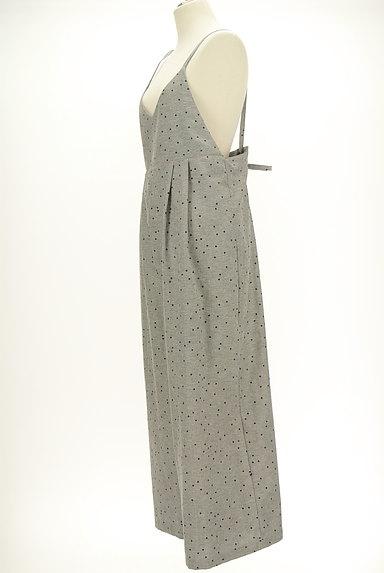 SM2(サマンサモスモス)の古着「バックシャンドット柄サロペット(オーバーオール・サロペット)」大画像3へ