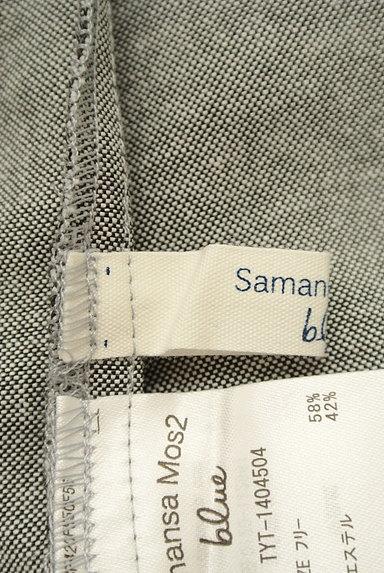 SM2(サマンサモスモス)の古着「バックシャンドット柄サロペット(オーバーオール・サロペット)」大画像6へ
