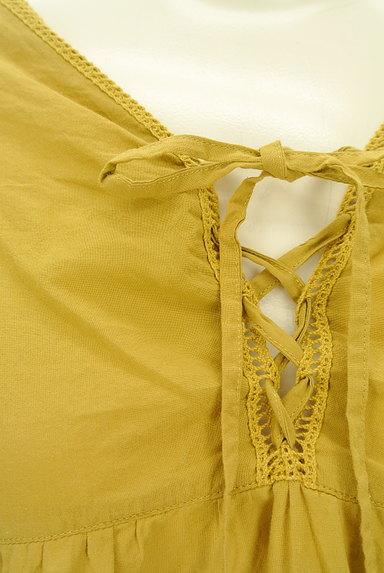 SM2(サマンサモスモス)の古着「レースアップフレア七分袖カットソー(カットソー・プルオーバー)」大画像4へ