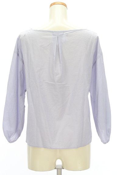 SM2(サマンサモスモス)の古着「刺繍スカラップカットソー(カットソー・プルオーバー)」大画像2へ