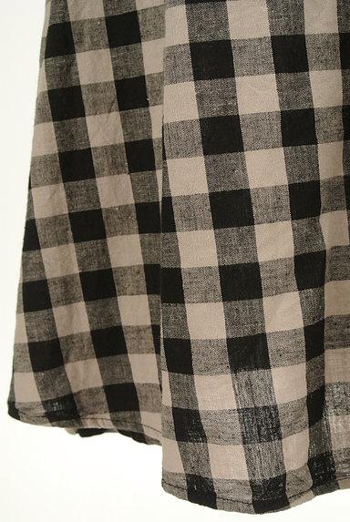 SM2(サマンサモスモス)の古着「チェック柄切替ミモレ丈スカート(ロングスカート・マキシスカート)」大画像5へ