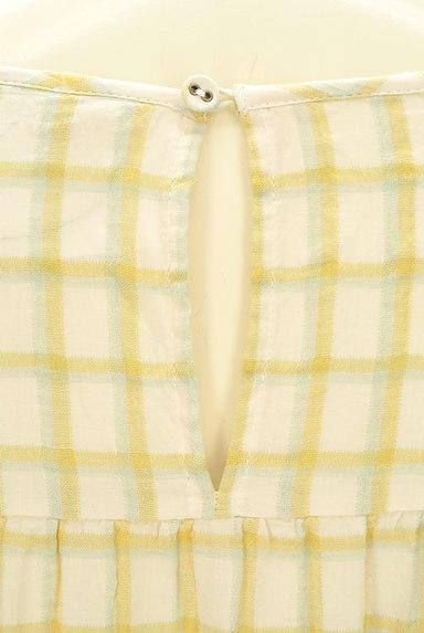 SM2(サマンサモスモス)の古着「ルーズシルエット長袖チェック柄ワンピース(ワンピース・チュニック)」大画像5へ