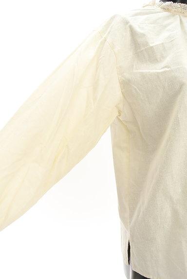 SM2(サマンサモスモス)の古着「レーススタンドカラーカットソー(カットソー・プルオーバー)」大画像5へ
