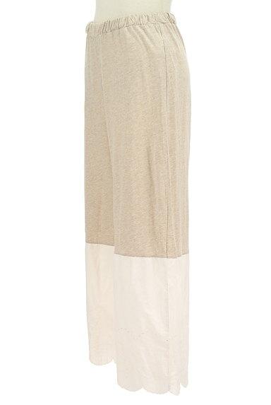 SM2(サマンサモスモス)の古着「別地切替ワイドパンツ(パンツ)」大画像3へ
