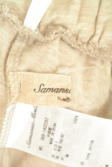SM2(サマンサモスモス)の古着「別地切替ワイドパンツ(パンツ)」大画像6へ