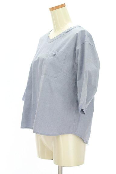 SM2(サマンサモスモス)の古着「バックリボン七分袖カットソー(カットソー・プルオーバー)」大画像3へ