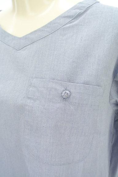 SM2(サマンサモスモス)の古着「バックリボン七分袖カットソー(カットソー・プルオーバー)」大画像4へ