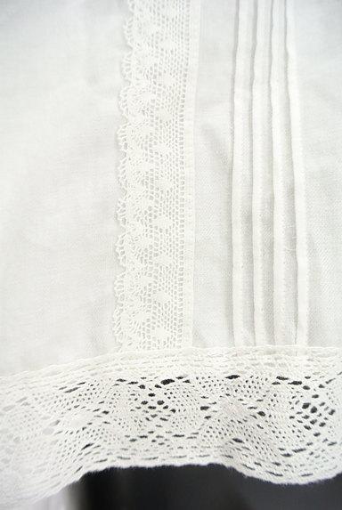 SM2(サマンサモスモス)の古着「ボリューム袖スキッパーカラーカットソー(ブラウス)」大画像5へ