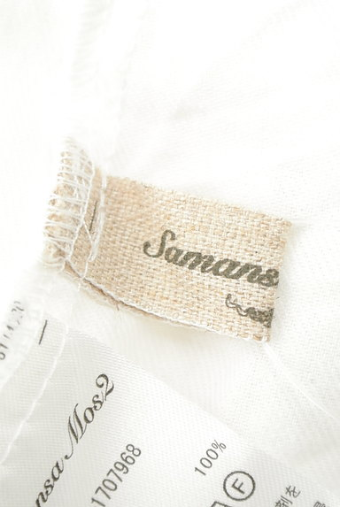 SM2(サマンサモスモス)の古着「ボリューム袖スキッパーカラーカットソー(ブラウス)」大画像6へ