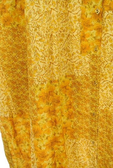 SM2(サマンサモスモス)の古着「パッチワーク風小花柄ワンピース(ワンピース・チュニック)」大画像5へ