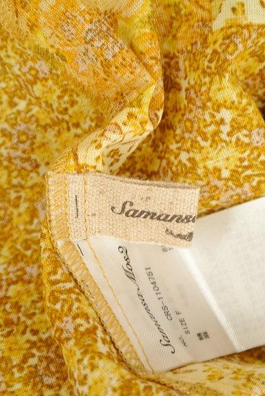 SM2(サマンサモスモス)の古着「パッチワーク風小花柄ワンピース(ワンピース・チュニック)」大画像6へ