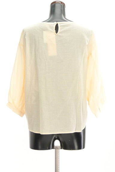 SM2(サマンサモスモス)の古着「ボリューム袖レースコットンカットソー(ブラウス)」大画像2へ