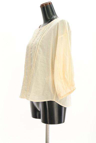 SM2(サマンサモスモス)の古着「ボリューム袖レースコットンカットソー(ブラウス)」大画像3へ