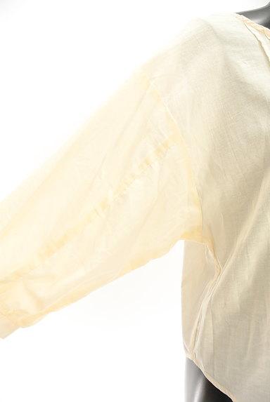 SM2(サマンサモスモス)の古着「ボリューム袖レースコットンカットソー(ブラウス)」大画像5へ