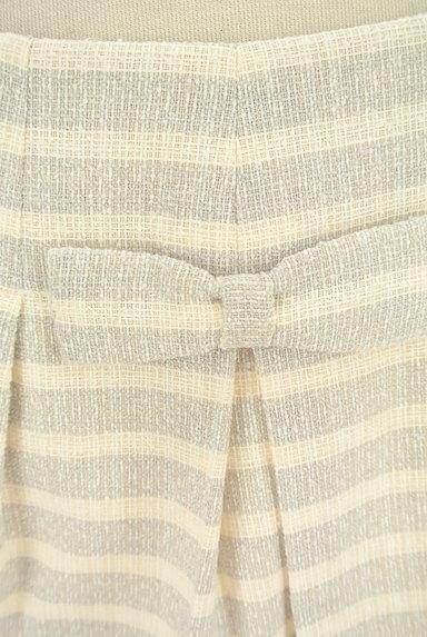 DO!FAMILY(ドゥファミリー)の古着「リボン付きボーダーフレアスカート(スカート)」大画像4へ