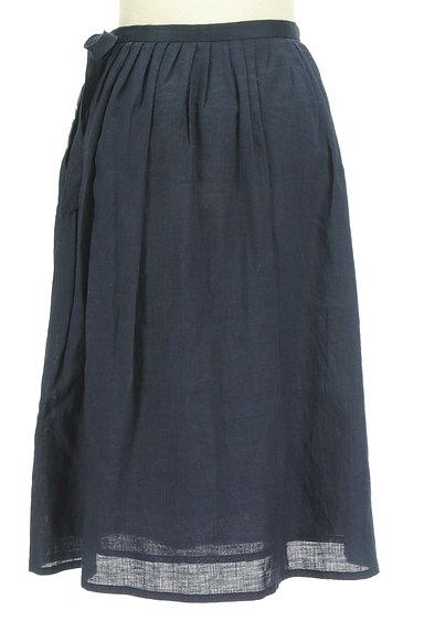DO!FAMILY(ドゥファミリー)の古着「サイドリボン膝下丈リネンスカート(スカート)」大画像2へ