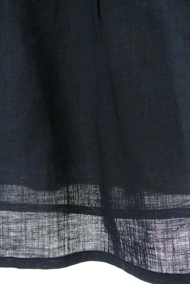DO!FAMILY(ドゥファミリー)の古着「サイドリボン膝下丈リネンスカート(スカート)」大画像5へ