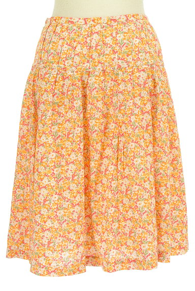 DO!FAMILY(ドゥファミリー)の古着「小花柄ミディ丈フレアスカート(スカート)」大画像2へ