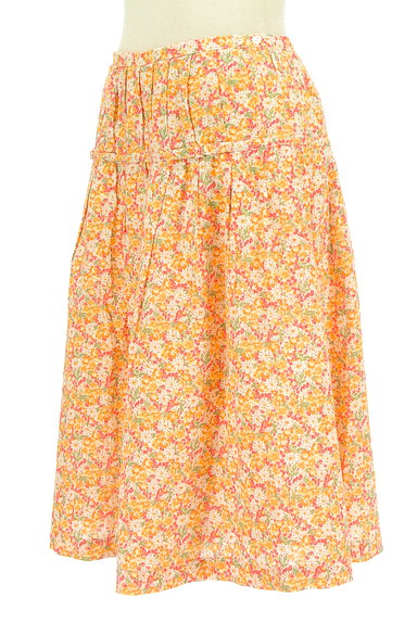 DO!FAMILY(ドゥファミリー)の古着「小花柄ミディ丈フレアスカート(スカート)」大画像3へ