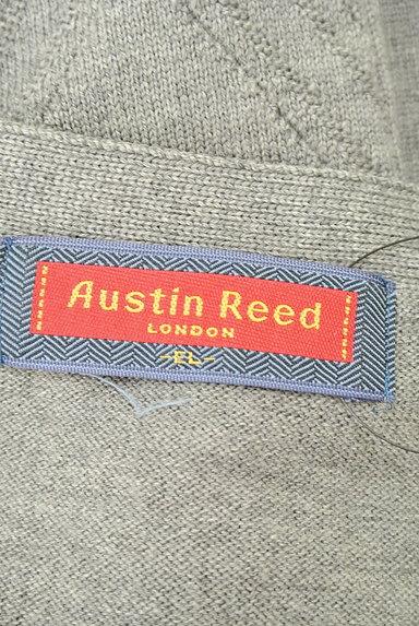 Austin Reed(オースチンリード)の古着「アーガイルチェック編地ベスト(ベスト)」大画像6へ