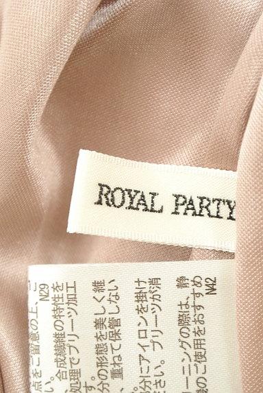 ROYAL PARTY(ロイヤルパーティ)の古着「ハイネックプリーツシフォンカットソー(カットソー・プルオーバー)」大画像6へ