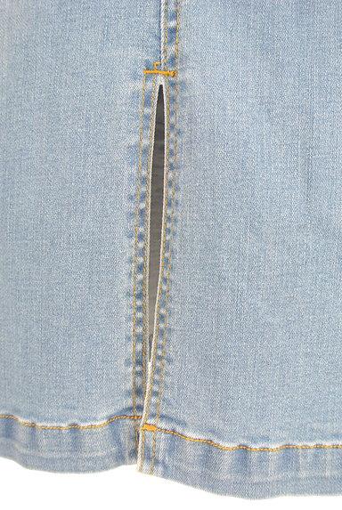 ROYAL PARTY(ロイヤルパーティ)の古着「前スリットミモレ丈デニムスカート(ロングスカート・マキシスカート)」大画像5へ