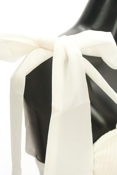 ROYAL PARTY(ロイヤルパーティ)の古着「シアー肩リボンリブキャミソール(キャミソール・タンクトップ)」大画像4へ