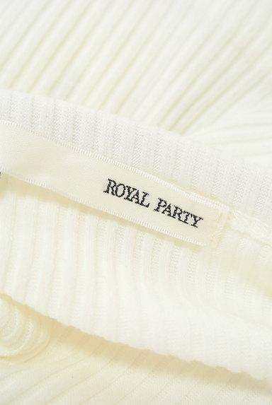 ROYAL PARTY(ロイヤルパーティ)の古着「シアー肩リボンリブキャミソール(キャミソール・タンクトップ)」大画像6へ