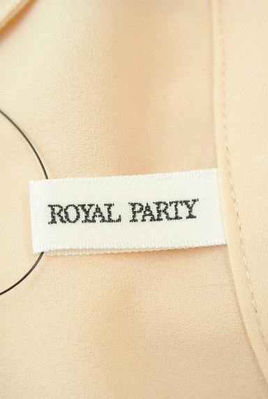 ROYAL PARTY(ロイヤルパーティ)の古着「タイリボンシフォンフレアブラウス(ブラウス)」大画像6へ