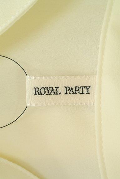 ROYAL PARTY(ロイヤルパーティ)の古着「リボンタイシフォンブラウス(ブラウス)」大画像6へ