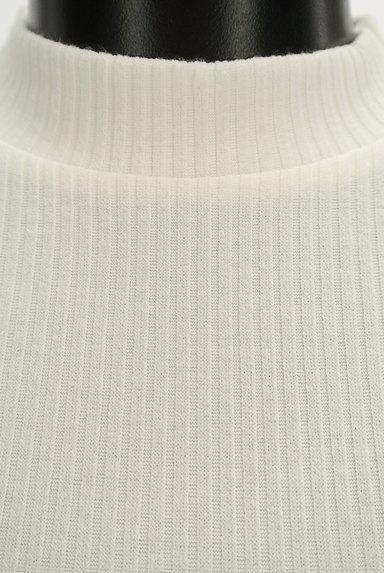ROYAL PARTY(ロイヤルパーティ)の古着「ボリューム袖半袖リブニット(カットソー・プルオーバー)」大画像4へ
