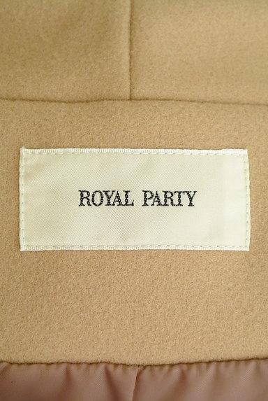 ROYAL PARTY(ロイヤルパーティ)の古着「ノーカラーロングコート(コート)」大画像6へ