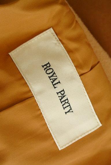ROYAL PARTY(ロイヤルパーティ)の古着「ウエストリボン起毛ロングコート(コート)」大画像6へ