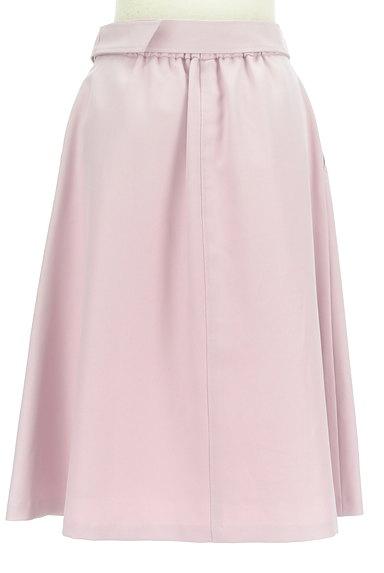 SunaUna(スーナウーナ)の古着「ベルト付き膝下丈フレアスカート(スカート)」大画像2へ