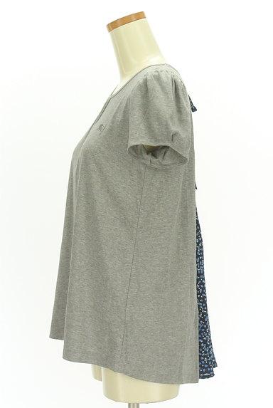 BURBERRY BLUE LABEL(バーバリーブルーレーベル)の古着「バックシフォンカットソー(カットソー・プルオーバー)」大画像3へ