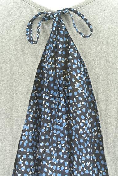 BURBERRY BLUE LABEL(バーバリーブルーレーベル)の古着「バックシフォンカットソー(カットソー・プルオーバー)」大画像4へ