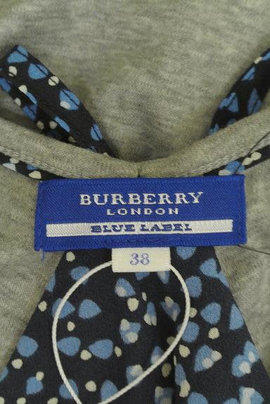BURBERRY BLUE LABEL(バーバリーブルーレーベル)の古着「バックシフォンカットソー(カットソー・プルオーバー)」大画像6へ