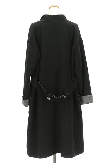 HIROKO BIS(ヒロコビス)の古着「モノトーンウールロングコート(コート)」大画像2へ
