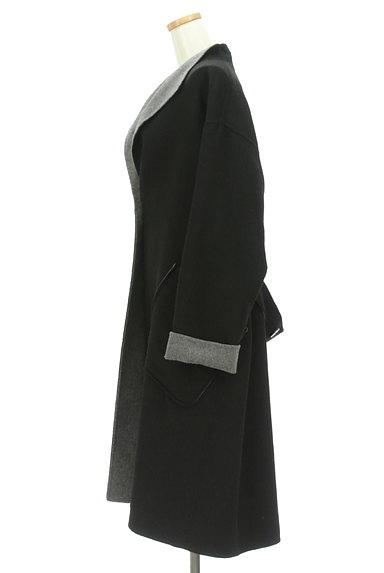 HIROKO BIS(ヒロコビス)の古着「モノトーンウールロングコート(コート)」大画像3へ