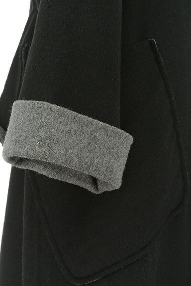 HIROKO BIS(ヒロコビス)の古着「モノトーンウールロングコート(コート)」大画像4へ