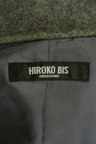 HIROKO BIS(ヒロコビス)の古着「モノトーンウールロングコート(コート)」大画像6へ