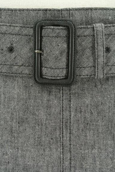 BURBERRY BLACK LABEL(バーバリーブラックレーベル)の古着「ベルト付きコットンリネン膝下丈スカート(スカート)」大画像4へ