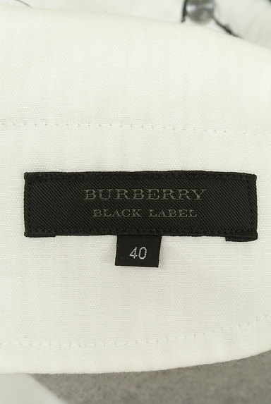 BURBERRY BLACK LABEL(バーバリーブラックレーベル)の古着「ベルト付きコットンリネン膝下丈スカート(スカート)」大画像6へ
