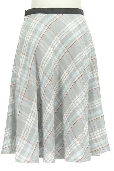 INED(イネド)の古着「膝下丈チェック柄フレアスカート(スカート)」大画像2へ