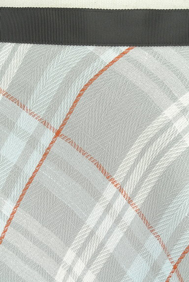 INED(イネド)の古着「膝下丈チェック柄フレアスカート(スカート)」大画像4へ