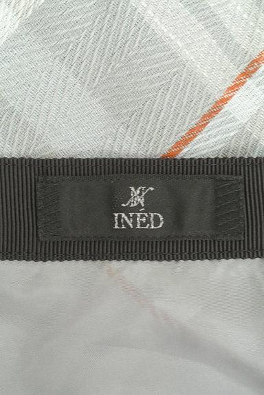 INED(イネド)の古着「膝下丈チェック柄フレアスカート(スカート)」大画像6へ