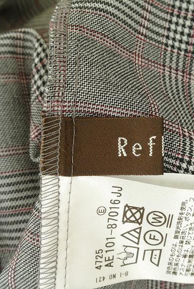 Reflect(リフレクト)の古着「フリル袖チェック柄カットソー(カットソー・プルオーバー)」大画像6へ