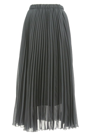 UNITED ARROWS(ユナイテッドアローズ)の古着「プリーツシアーロングスカート(ロングスカート・マキシスカート)」大画像1へ