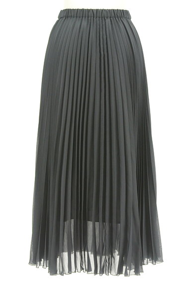UNITED ARROWS(ユナイテッドアローズ)の古着「プリーツシアーロングスカート(ロングスカート・マキシスカート)」大画像2へ