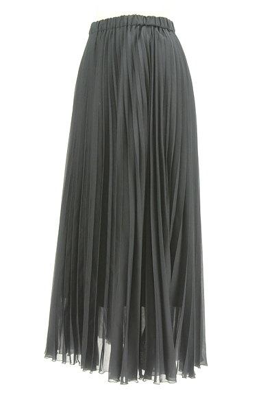 UNITED ARROWS(ユナイテッドアローズ)の古着「プリーツシアーロングスカート(ロングスカート・マキシスカート)」大画像3へ